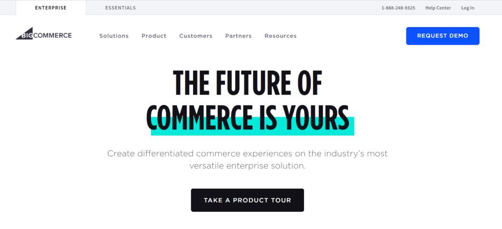 Bigcommerce - Shopify Alternative